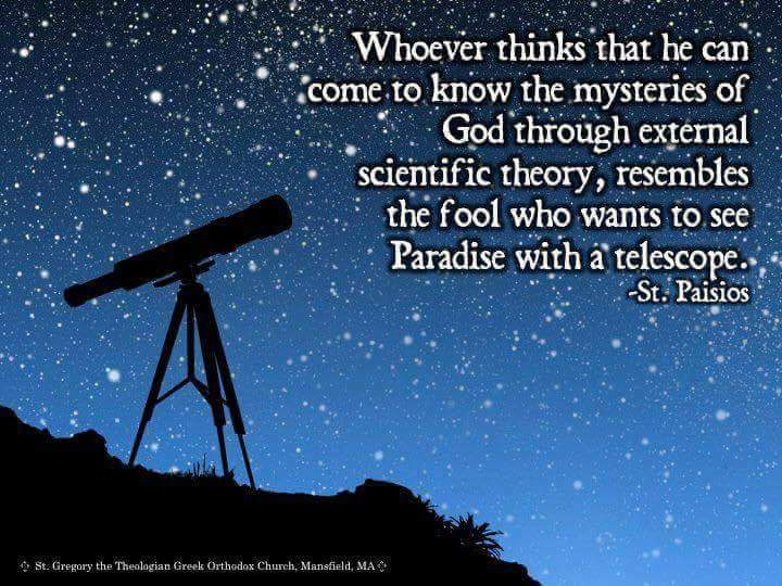 Rationality - Science vs the Deep things of God – Anonymous